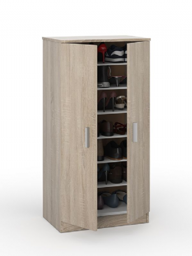 Zuldy Oak Effect Shoe Cabinet - 2892